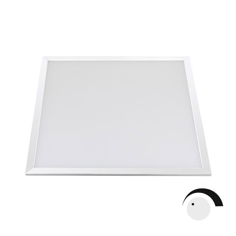 Panel LED 40W Samsung 5630, 60x60cm, regulable, Blanco neutro, Regulable
